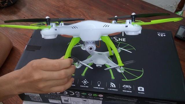 Imagen importar un drone a Perú 1